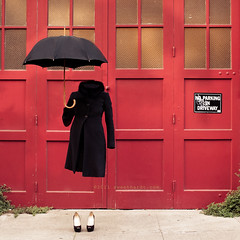 O is for Overcoat [Explored!] (sweethardt) Tags: ladies portrait umbrella self project person shoes o invisible no az womens human letter alphabet hollow overcoat explored