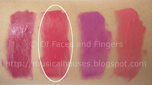 Sleek Pout Polish warm rose swatch 2
