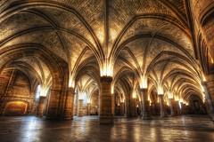 La Conciergerie (TheFella) Tags: longexposure roof paris france building slr marie seine architecture digital photoshop canon island eos gold golden hall photo justice high europe ledefrance dynamic palaisdejustice interior royal palace medieval ceiling queen prison photograph processing slowshutter frenchrevolution palais 5d antoinette inside guards dslr pillars range hdr highdynamicrange marieantoinette markii riverseine prisoners guillotine ledelacit conciergerie postprocessing rpubliquefranaise laconciergerie photomatix frenchrepublic rgionparisienne parisregion 5dmarkii halloftheguards doubletonemapped