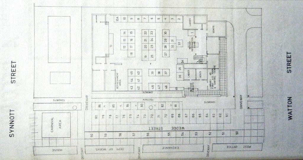 20110823 02 Werribee Centenary Hall plan - 1972