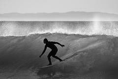 mono surfer (laatideon) Tags: canon person mono surf surfer wave surfing 100400mm laatideon deonlategan