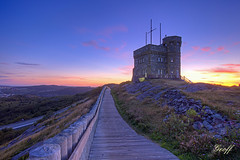Cabot Tower (gwhiteway) Tags: travel canada building tower history tourism newfoundland outdoors hill stjohns nobody landmark tourist wireless british nl signal transatlantic cabot marconi historicsite mygearandme mygearandmepremium artistoftheyearlevel3