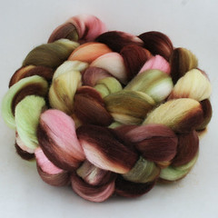 Southern Magnolia on Merino Silk