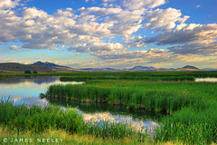 Considering What's Important (James Neeley) Tags: morning sunrise landscape utah logan hdr cachevalley 5xp jamesneeley cutlermarsh