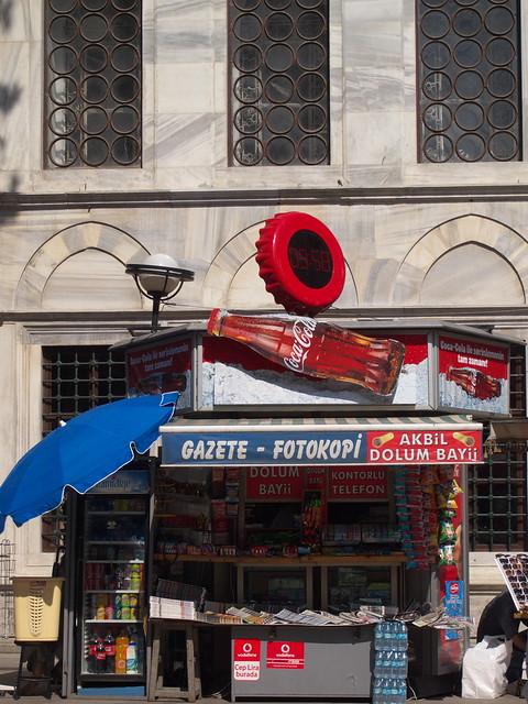 伊斯坦堡街道--街頭小雜貨店