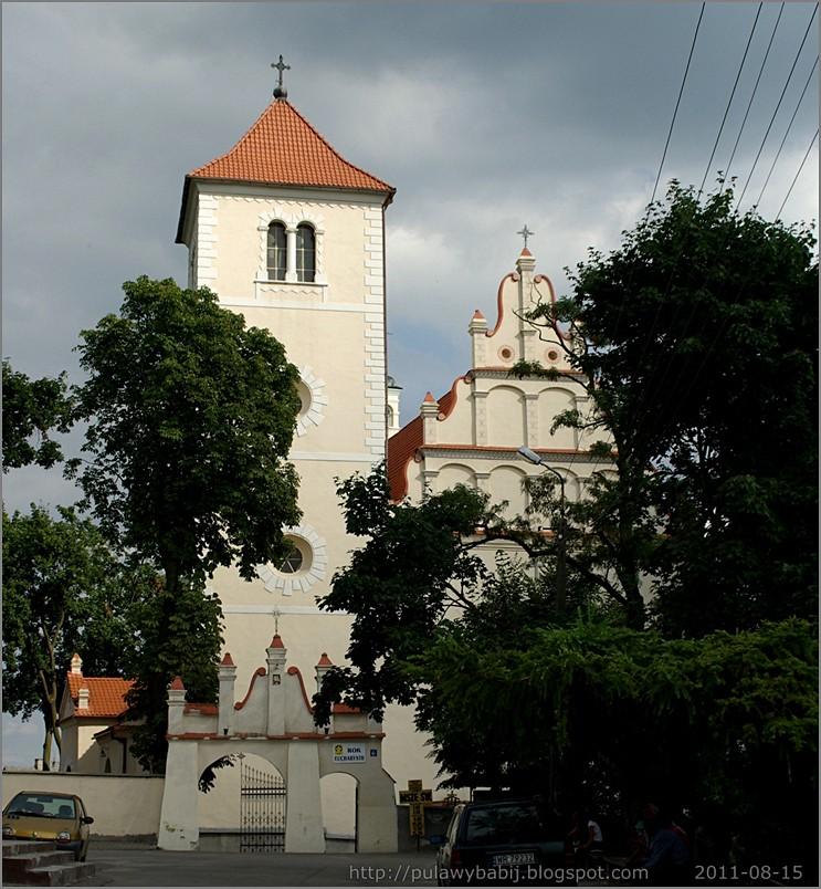 Widok na kościół z rynku