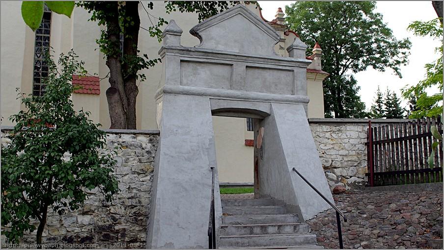 Janowiec Kościół parafialny św. Stanisława i św. Małgorzaty