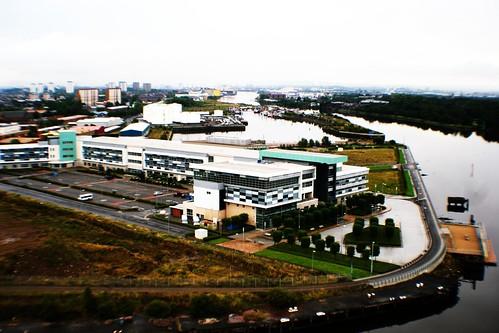 View from Titan Crane, Clydebank