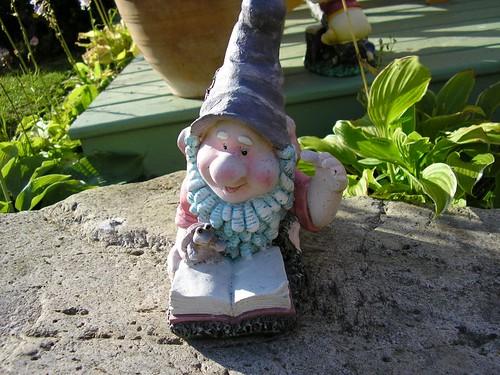 Reading garden gnome 2