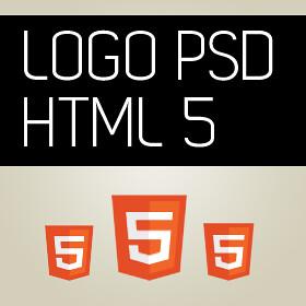 Logo HTML5 PSD for Fre...