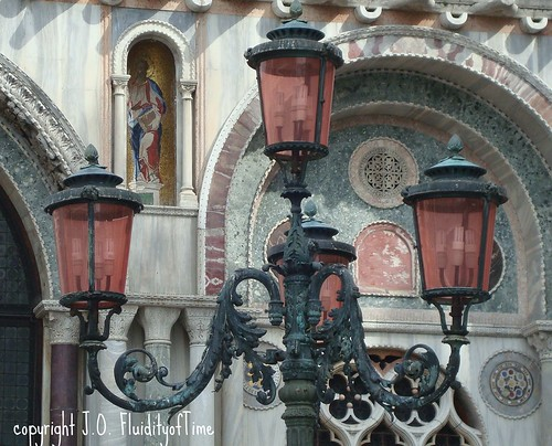 Lamp Post in Venice
