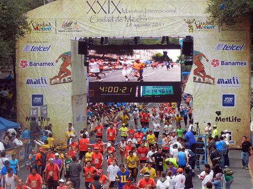 Maraton de la Ciudad de Mexico 2011 403