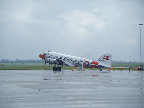 DC-3 (Dakota) based at Roskilde Airport
