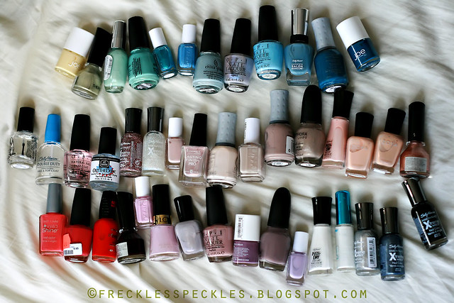 One Happy Nail Polish Family