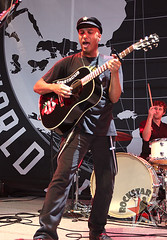 Tom Morello and the Night Watchman - DTE Energy Center - Clarkston, MI - Aug 24th 2011