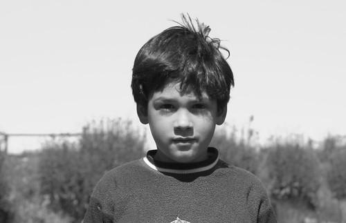 Retrato de niño silvestre