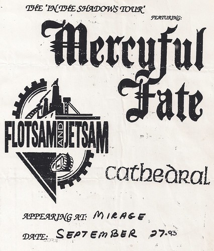 09-27-93 Mercyful Fate/Flotsam & Jetsam/Cathedral @ Mirage, Minneapolis, MN