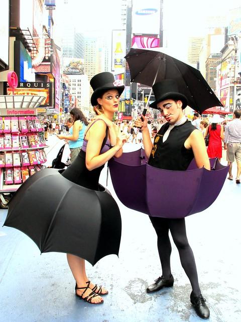 El Circo del Sol en Times Square