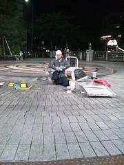 パフオーマー川原さんのバルーンアートの写真
