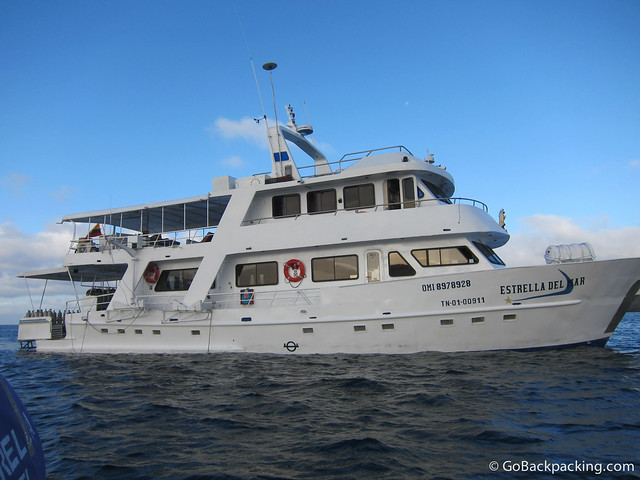 Estrella del Mar - a typical 1st class motor yacht