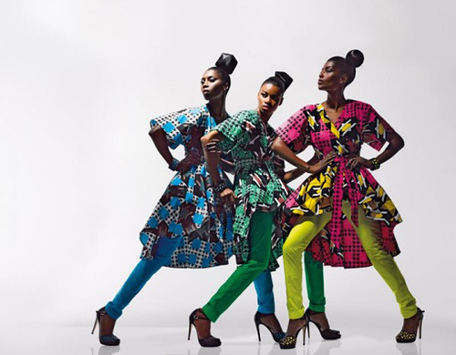Dazzling Graphics' fabric collection from Vlisco - 7