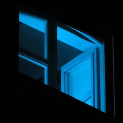 Fluo Zone (! .  Angela Lobefaro . !) Tags: blue italy window night noche cool blu quality niche fenster bleu finestra piemonte chateau biella piedmont notte zone chateaux fenetre fluo valdengo biellese fototrove