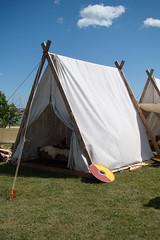 Viking Tent (canadianlookin) Tags: history festival iceland manitoba celebration reenactment gimli icelandicfestival islendingadagurinn