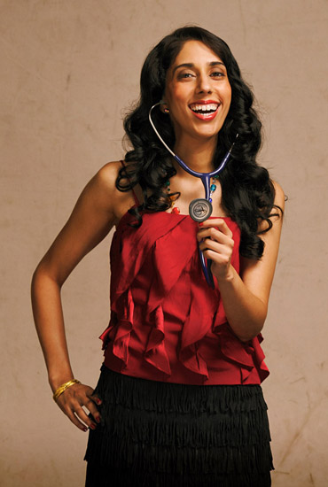 Dr Dee, Commercial PR Portrait, Smiling with Stethoscope
