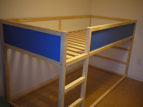 IKEA 二段ベッド KURA