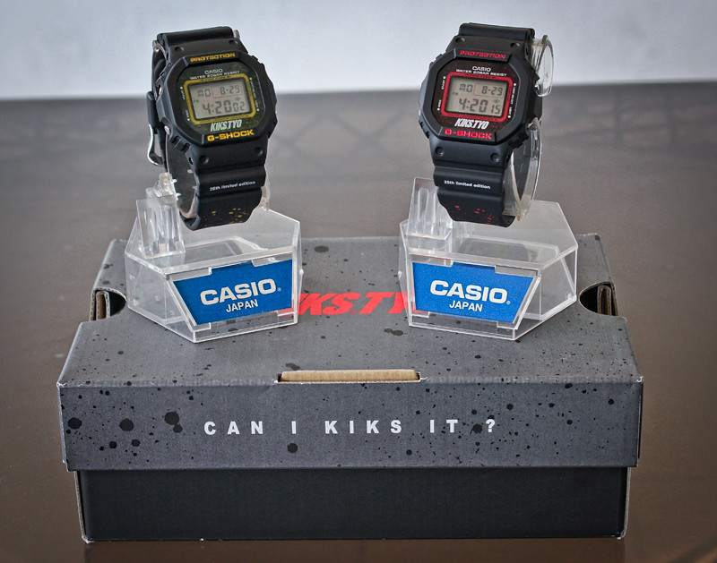 Casio G-Shock x KIKS TYO Limited Edition Watches