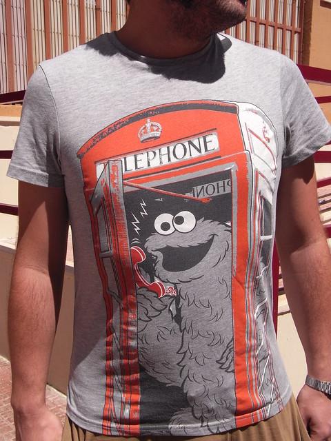 camiseta cabina