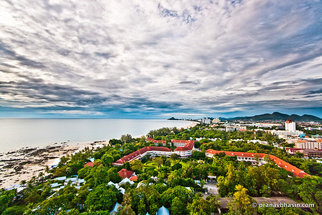 Beautiful Morning At Hua Hin, Thailand