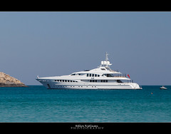 Daddy's new toy (Hkon Kjllmoen, Norway) Tags: frank yacht air omega hellas panasonic greece motor bermuda yachts architects luxury 103 rhodos heesen supershot 47m hkonkjllmoen wwwkjollmoencom laupman yn15147
