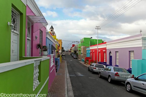 Bo-Kaap and its distinctive homes