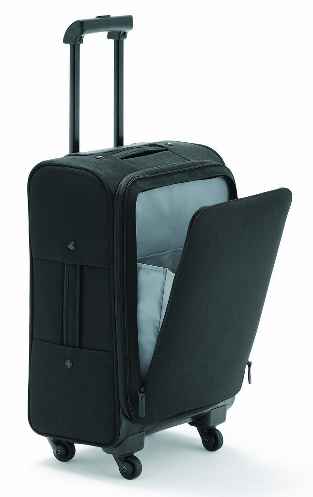 4-Wheel Pocket Carry Suitcase