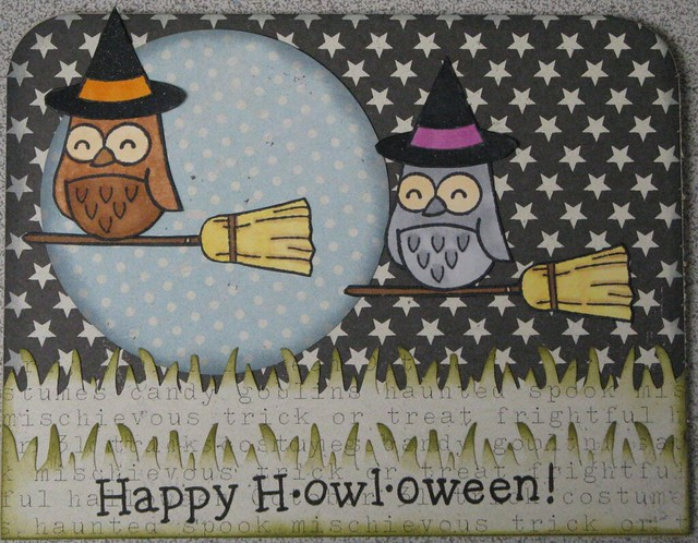 Happy hOWLoween Card