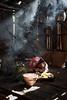 m o m e n t (©Helminadia Ranford) Tags: travel light boy flores nature indonesia kid village smoke working rays simple