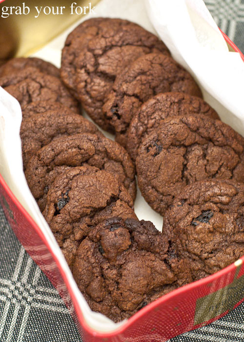 Recipe: Dark chocolate and sour cherry cookies | Grab Your Fork: A ...