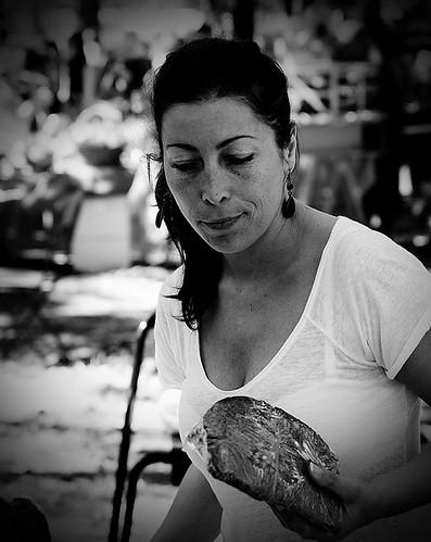 Candid Street Portrait Photography, Fête de la Lavande, Sault, Provence, France