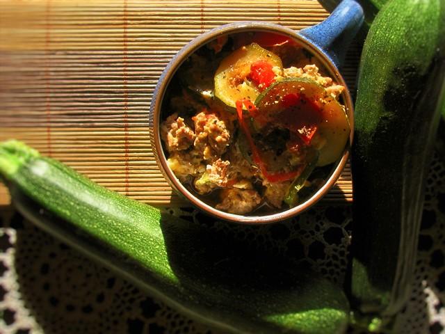 Zucchini Pan Stew