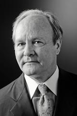 Bruce Lloyd (Gene Fama) Tags: portrait monochrome businessman suit sep hermes reflector brucelloyd canonef85mmf12lii twolightsetup canoneos5dmkii alienbeesb800strobe genoduotone