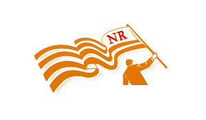 NR flag man
