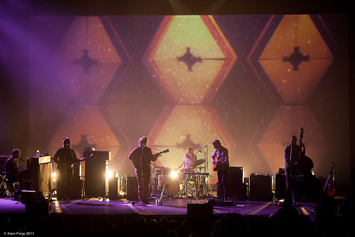 Fleet Foxes at the Paramount. Seattle 2011. by Sean Frego