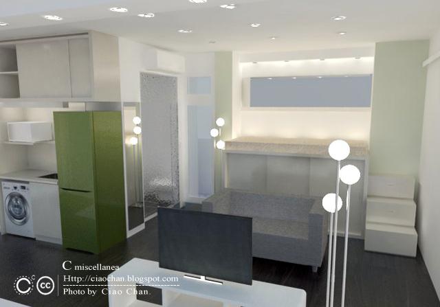 小坪數室內設計-測試Vray 4-01