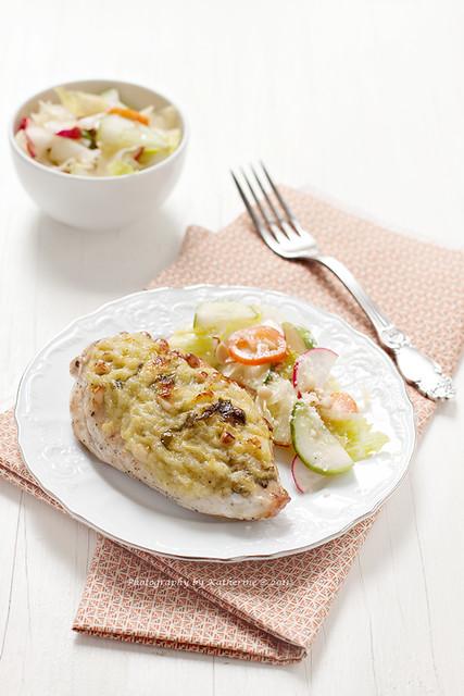 Chicken with zucchini