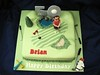 Golf cake (The4manxies) Tags: birthday male cake golf course deborah debbie 50th golfer cubbon the4manxies