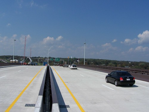 Fall River-Somerset, Veterans Memorial Bridge, Westbound Open, September 13, 2011