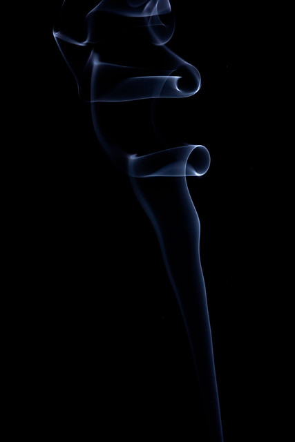 Smoke picture before post processing