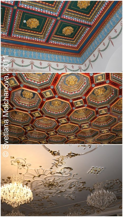 Types of Castle's ceilings