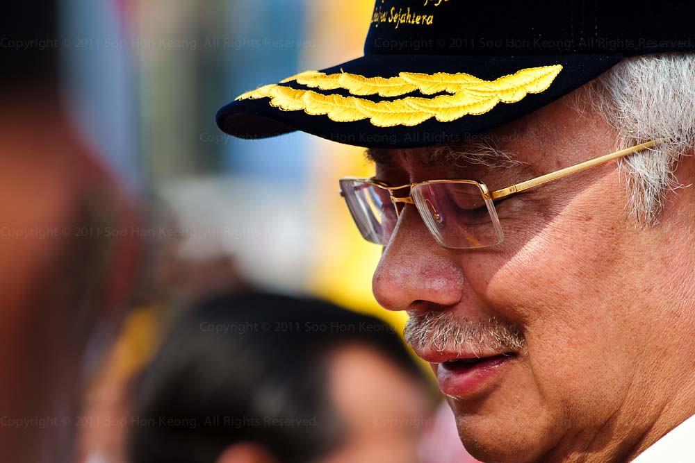 YAB Prime Minister of Malaysia Dato' Sri Haji Mohd Najib bin Tun Haji Abdul Razak @ Malaysia Day Celebration, Dataran Merdeka, KL, Malaysia